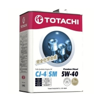 TOTACHI Premium Diesel Fully Synthetic 5W40, 4л 4562374690745