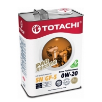 TOTACHI Extra Fuel Fully Synthetic 0W20, 4л 4562374690622
